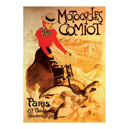 D-Toys Motocycles Comiot - Vintage Poster Jigsaw Puzzle: 1000 Pcs