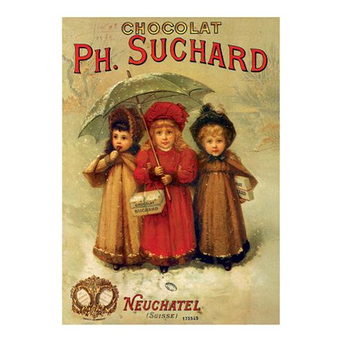 D-Toys PH. Suchard - Vintage Poster Jigsaw Puzzle:1000 Pcs