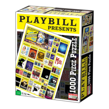 jcpenney.com | Playbill - Best of Broadway Jigsaw Puzzle: 1000 Pcs