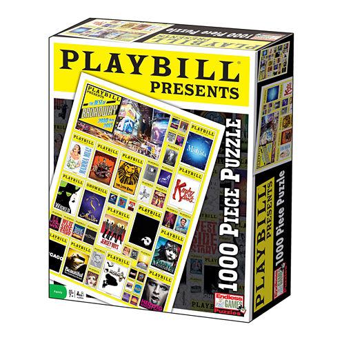 Endless Games Playbill - Best of Broadway Jigsaw Puzzle: 1000 Pcs