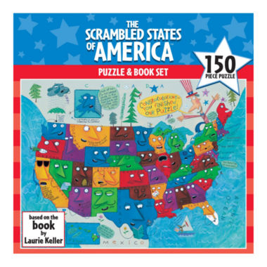 jcpenney.com | Scrambled States of America Puzzle: 150 Pcs