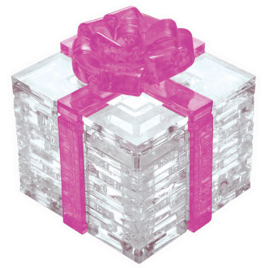 jcpenney.com | 3D Crystal Puzzle - Gift Box (Pink Bow): 38 Pcs