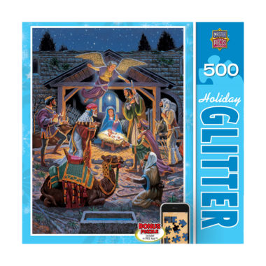 jcpenney.com | Holiday Glitter Puzzle - Holy Night: 500 Pcs