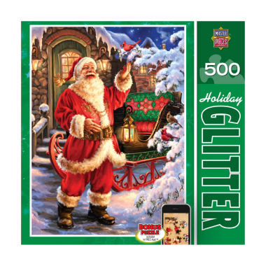 jcpenney.com | Holiday Glitter Puzzle - Jolly Saint Nick: 500 Pcs