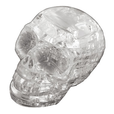jcpenney.com | 3D Crystal Puzzle - Skull (Clear): 48 Pcs