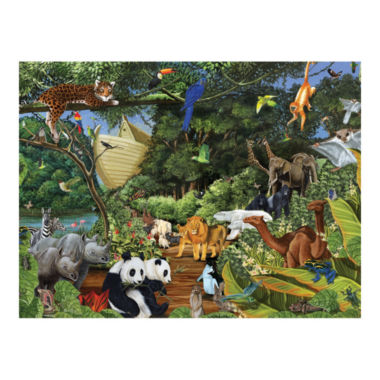 jcpenney.com | Family Varying Piece Size Puzzle - Noah's Gathering: 400 Pcs