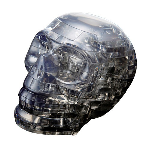 BePuzzled 3D Crystal Puzzle - Skull: 48 Pcs