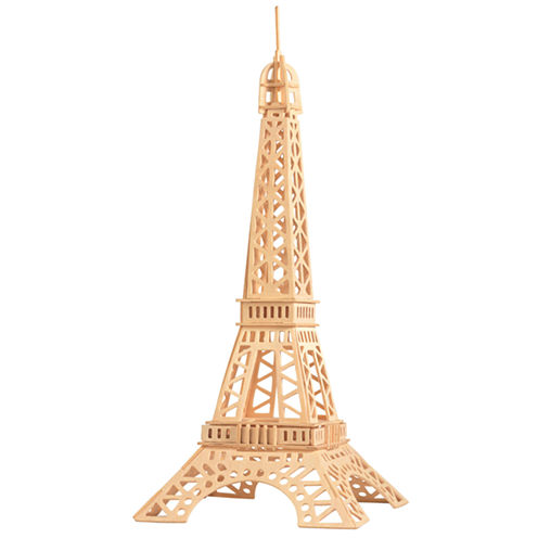 Puzzled Eiffel Tower Wooden Puzzle