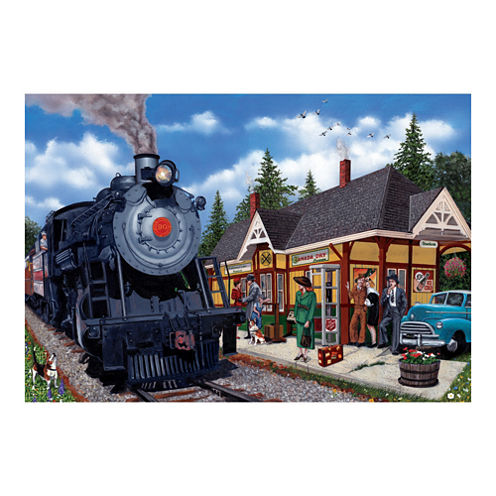 Outset Media Kirkland Lake Station Puzzle: 2000 Pcs