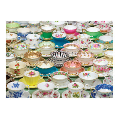 jcpenney.com | Tea Cups Puzzle: 1000 Pcs