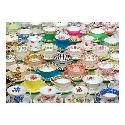 Outset Media Tea Cups Puzzle: 1000 Pcs