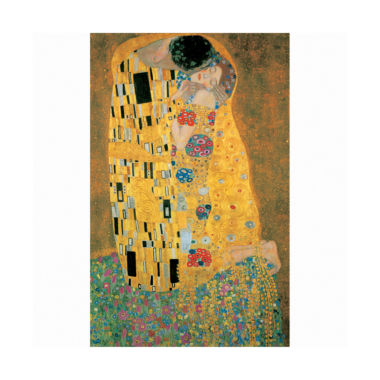 jcpenney.com | Klimt The Kiss Metallic Jigsaw Puzzle: 1000 Pcs
