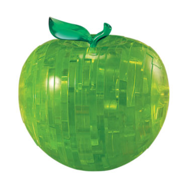 jcpenney.com | 3D Crystal Puzzle - Apple (Green): 44 Pcs