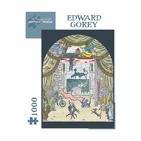 Pomegranate Communications Inc. Edward Gorey - Untitled Puzzle: 1000 Pcs