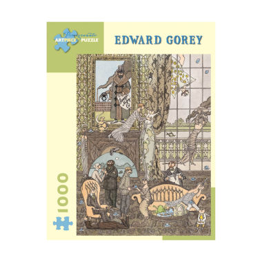 jcpenney.com | Edward Gorey Frawgge Manufacturing Co Puzzle: 1000Pcs