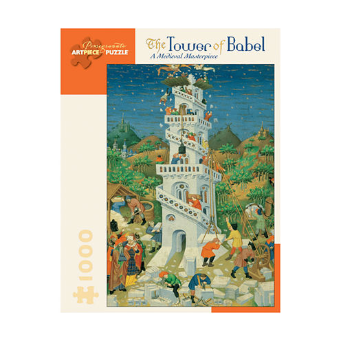 Pomegranate Communications Inc. The Tower of Babel: A Medieval Masterpiece Puzzle: 1000 Pcs