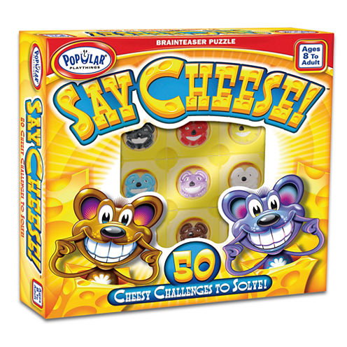 Popular Playthings Say Cheese Brainteaser Puzzle