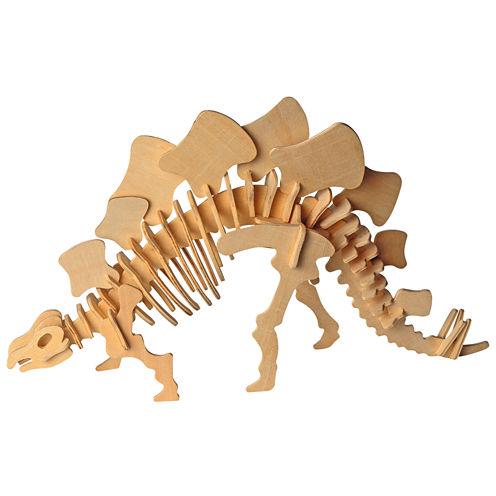 Puzzled Big Stegosaurus Wooden Puzzle