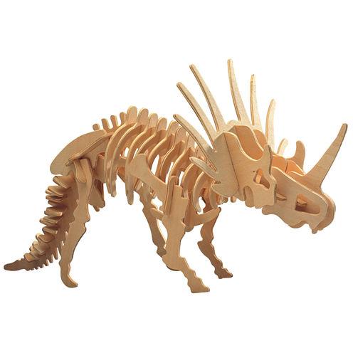 Puzzled Big Styracosaurus Wooden Puzzle