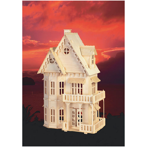 Puzzled Gothic House Wood Puzzle