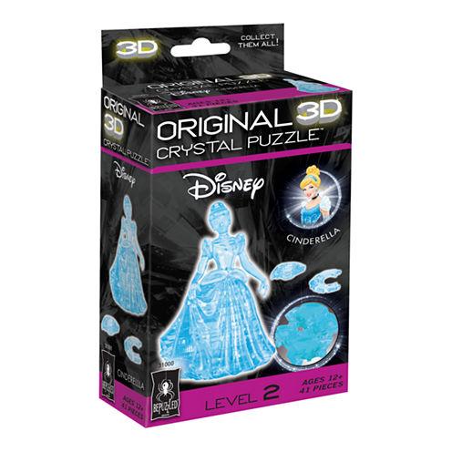 BePuzzled 3D Crystal Puzzle - Disney Cinderella: 41 Pcs