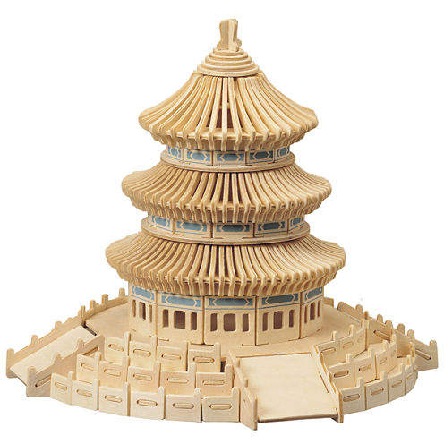 Puzzled Temple of Heaven Wooden Puzzle