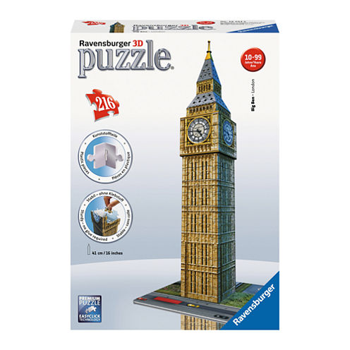 Ravensburger 3D Puzzle - Big Ben: 216 Pcs