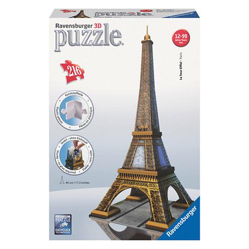 Ravensburger 3D Puzzle - Eiffel Tower: 216 Pcs