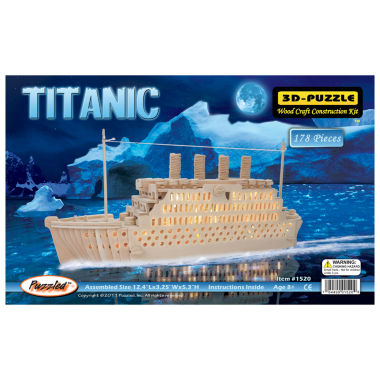 jcpenney.com | Titanic Natural Wood Puzzle