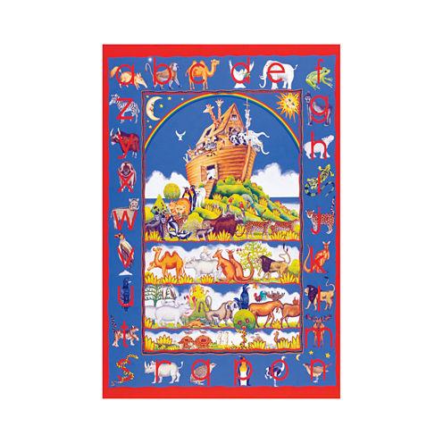 SunsOut Animal Alphabet - Large Piece Floor Puzzle: 48 Pcs
