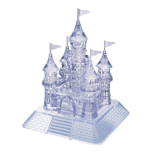 BePuzzled 3D Crystal Puzzle - Castle: 105 Pcs