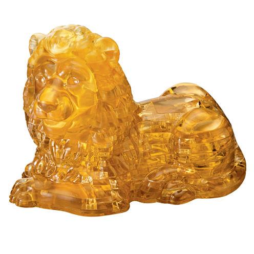 BePuzzled 3D Crystal Puzzle - Lion: 96 Pcs