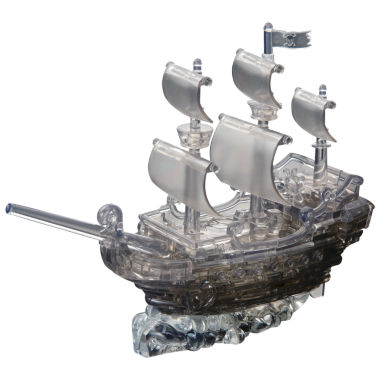 jcpenney.com | 3D Crystal Puzzle - Black Pirate Ship: 101 Pcs