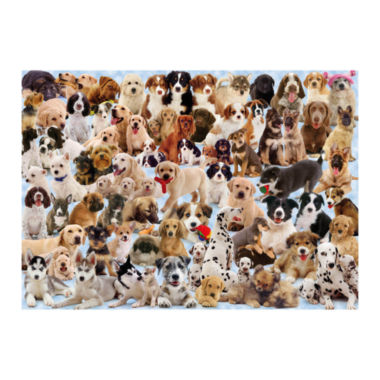 jcpenney.com | Dogs Galore! Jigsaw Puzzle: 1000 Pcs