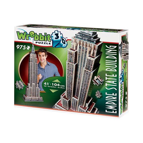Wrebbit Empire State Building 3D Puzzle: 975 Pcs