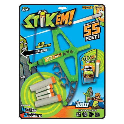 Zing Toys StikEm!™ Air Bow