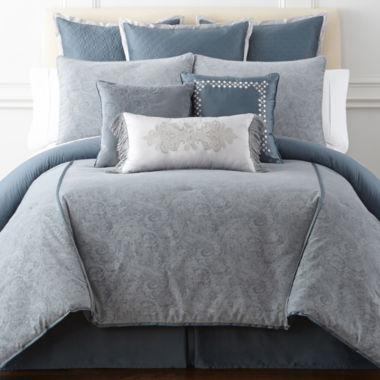 jcpenney.com | Royal Velvet Fresco Pasiley 4-pc. Comforter Set