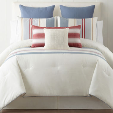jcpenney.com | New England Charm Stripe 3-pc. Comforter Set