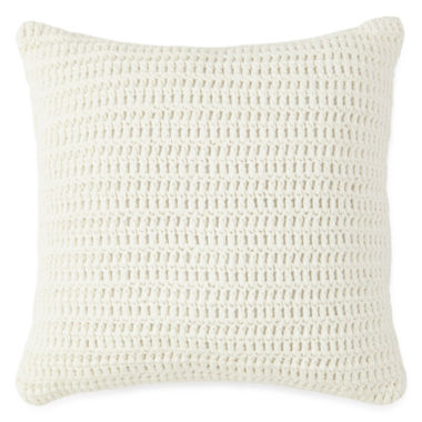 jcpenney.com | New England Charm Stripe Knit Decorative Pillow
