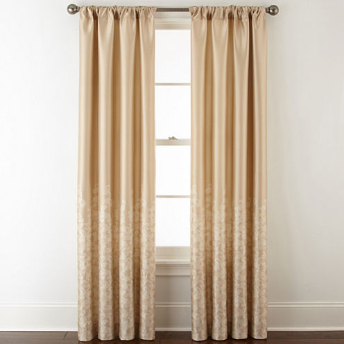 Royal Velvet Lucia Rod Pocket Curtain Panel