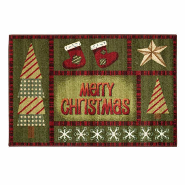 jcpenney.com | Brumlow Merry Christmas Printed Rectangle Accent Rug