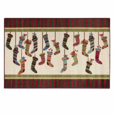 jcpenney.com | Brumlow Stocking Stripes Printed Rectangle Accent Rug