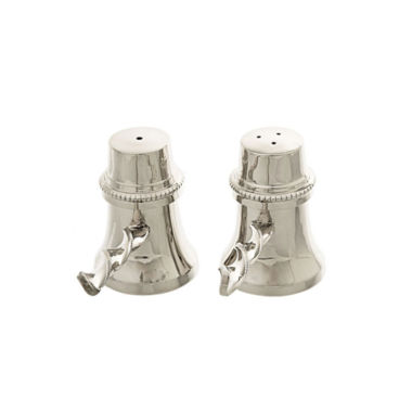 jcpenney.com | Classic Touch stainless steel Salt & Pepper Shaker Set