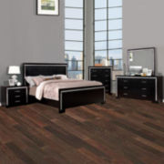 Galio Black 4-Pc. Bedroom Set