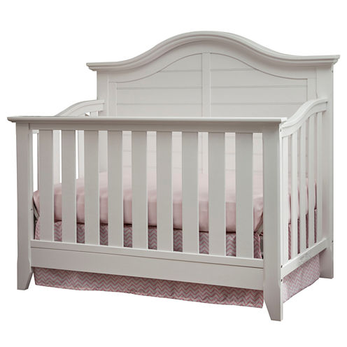 Thomasville Kids Southern Dunes Lifestyle 4-in-1 Convertible Crib - White