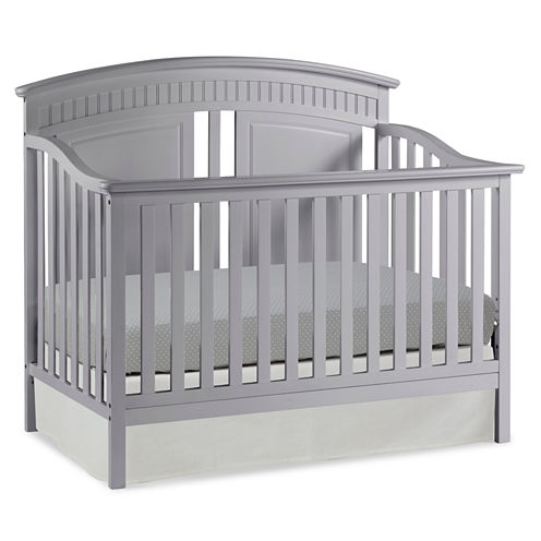 Thomasville Kids Majestic 4-in-1 Convertible Crib - Pebble Gray