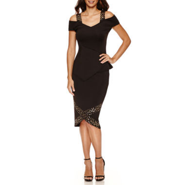 jcpenney.com | Bisou Bisou Studded Peplum Top or Studded Assymetrical Skirt