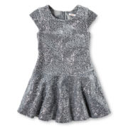 Joe Fresh™ Sequin Dress - Girls 4-14
