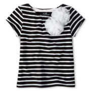 Joe Fresh™ Pom-Pom Tee - Girls 1t-5t