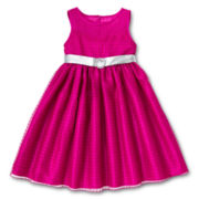 Princess Faith Dotted Swiss Dress - Girls 2t-4t